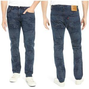 Levi's Fresh Leaves Justin Timberlake Camo Jeans